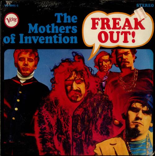 Frank Zappa Freak Out Sealed Us 2 Lp Vinyl Record Set