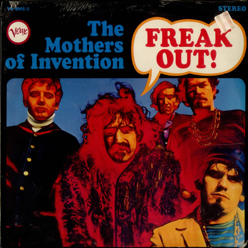 Frank Zappa Freak Out! - Sealed 2-LP vinyl record set (Double Album) US ZAP2LFR522195