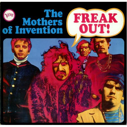 Frank Zappa Freak Out Uk 2 Lp Vinyl Record Set Double