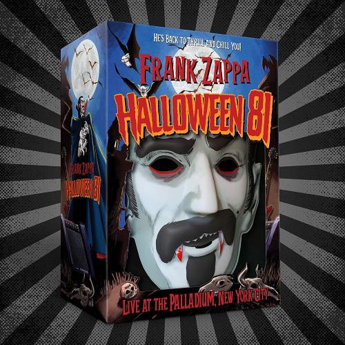 Frank Zappa Halloween 81 - Costume Box - Sealed CD Album Box Set UK ZAPDXHA753502