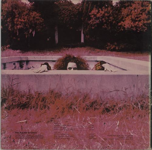 Frank Zappa Hot Rats - 1st - EX vinyl LP album (LP record) UK ZAPLPHO541469