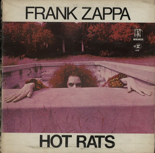 Frank Zappa Hot Rats - 2nd - EX vinyl LP album (LP record) UK ZAPLPHO639645
