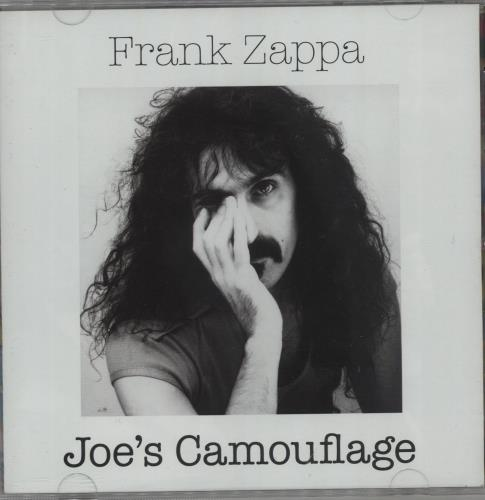 Frank Zappa Joe's Camouflage CD album (CDLP) US ZAPCDJO662298