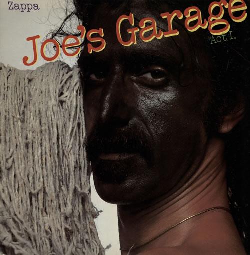 Frank Zappa Joe S Garage Act I Uk Vinyl Lp Album Lp