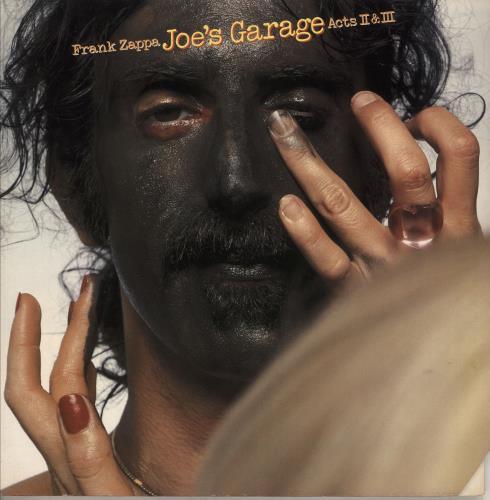 Frank Zappa Joe's Garage Acts II & III - EX 2-LP vinyl record set (Double Album) US ZAP2LJO528306