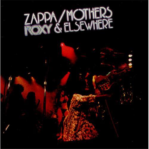 Frank Zappa Roxy & Elsewhere 2-LP vinyl record set (Double Album) UK ZAP2LRO423002