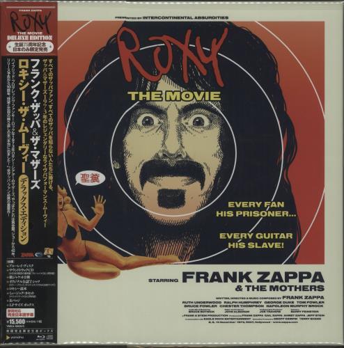 Frank Zappa Roxy: The Movie - Sealed CD Album Box Set Japanese ZAPDXRO661451