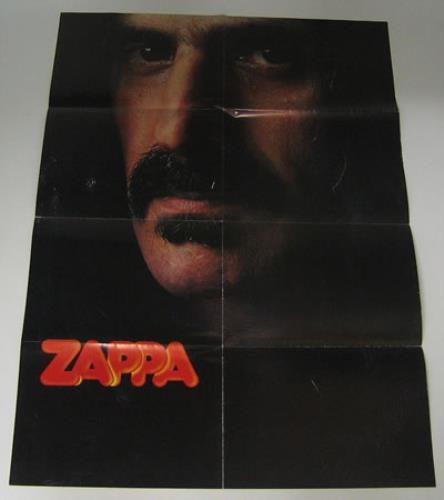 Frank Zappa Sheik Yerbouti tour programme UK ZAPTRSH359825