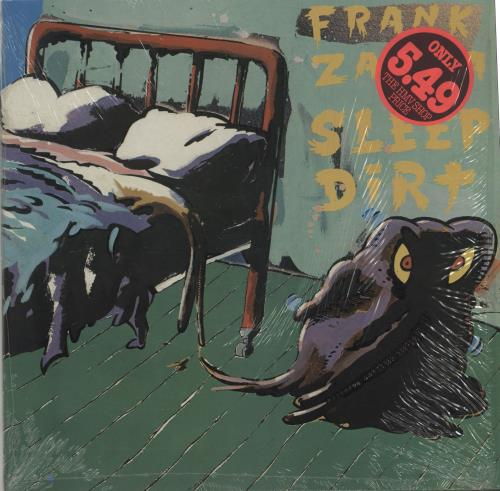 Frank Zappa Sleep Dirt Stickered Shrink Uk Vinyl Lp
