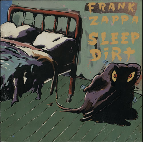 Frank Zappa Sleep Dirt vinyl LP album (LP record) US ZAPLPSL570721