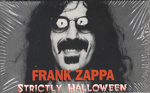 Frank Zappa Strictly Halloween Us Promo Cassette Album