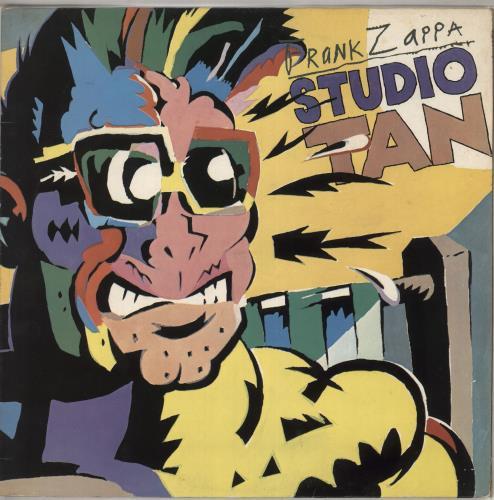 Frank Zappa Studio Tan - EX vinyl LP album (LP record) UK ZAPLPST639797