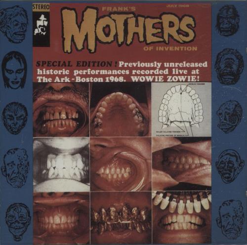 Frank Zappa The Ark CD album (CDLP) UK ZAPCDTH662300