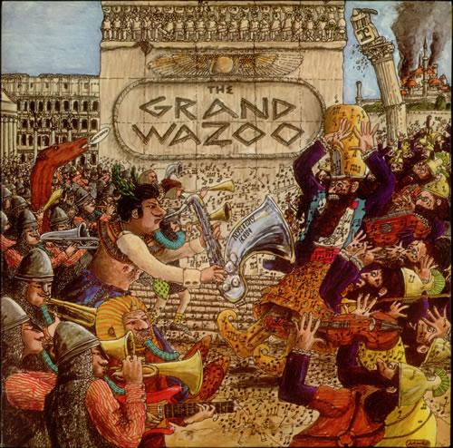Frank Zappa The Grand Wazoo Tan Steamboat Label Us Vinyl