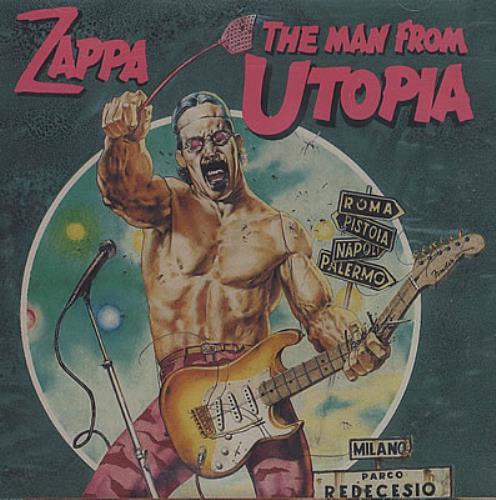 Frank Zappa The Man From Utopia CD album (CDLP) Canadian ZAPCDTH252595
