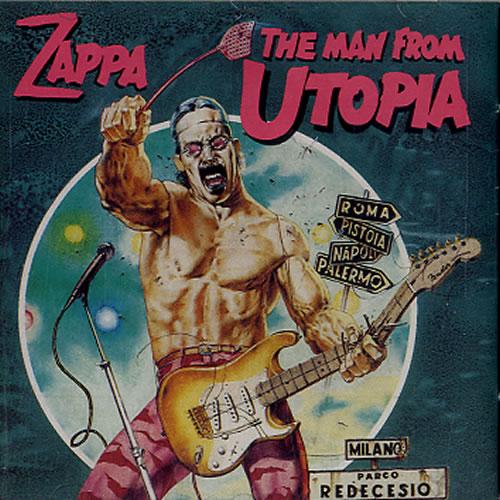 Frank Zappa The Man From Utopia CD album (CDLP) UK ZAPCDTH613717