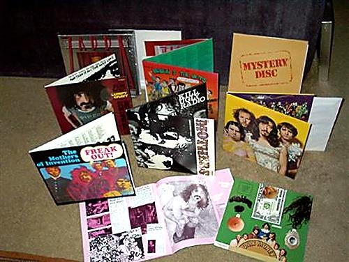 Frank Zappa The Old Masters Box One Vinyl Box Set US ZAPVXTH657104