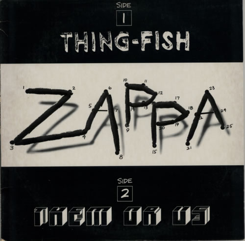Frank Zappa Thing Fish Amp Them Or Us Sampler Us Promo 12