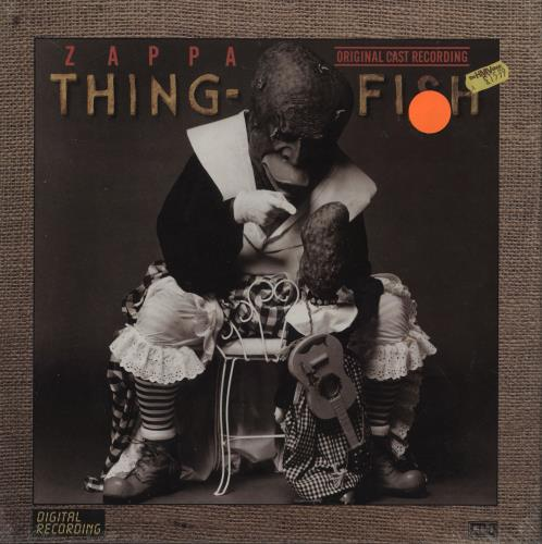 Frank Zappa Thing-Fish - Sealed Vinyl Box Set UK ZAPVXTH754905
