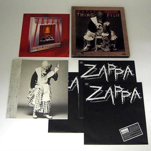Frank Zappa Thing Fish Uk Vinyl Box Set 340892