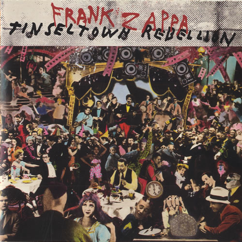 Frank Zappa Tinsel Town Rebellion CD album (CDLP) US ZAPCDTI460266