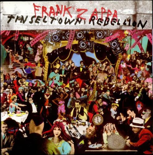 Frank Zappa Tinseltown Rebellion - Autographed 2-LP vinyl record set (Double Album) US ZAP2LTI523968