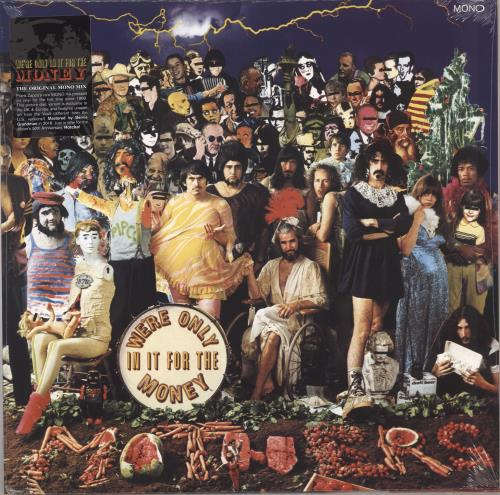 Frank Zappa We're Only In It For The Money - RSD BF18 - Sealed picture disc LP (vinyl picture disc album) UK ZAPPDWE708691