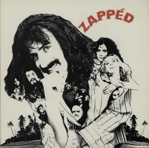 Frank Zappa Zapped 2nd Us Promo Vinyl Lp Album Lp