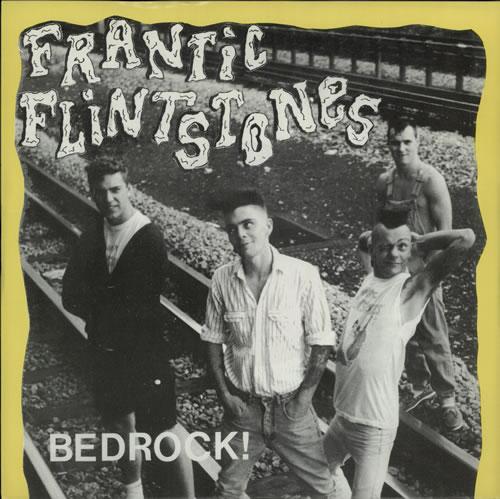"Frantic Flintstones Bedrock EP 7"" vinyl single (7 inch record) UK FW607BE575389"