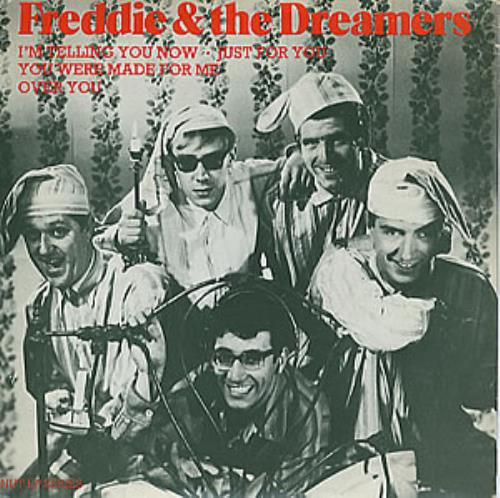 "Freddie & The Dreamers I'm Telling You Now 7"" vinyl single (7 inch record) UK F&D07IM294708"