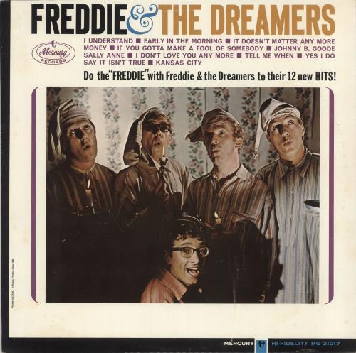Freddie & The Dreamers Freddie & The Dreamers - Mono - Original vinyl LP album (LP record) US F&DLPFR111610
