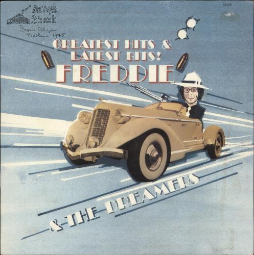 Freddie & The Dreamers Greatest Hits & Latest Bits! - Autographed vinyl LP album (LP record) French F&DLPGR727660