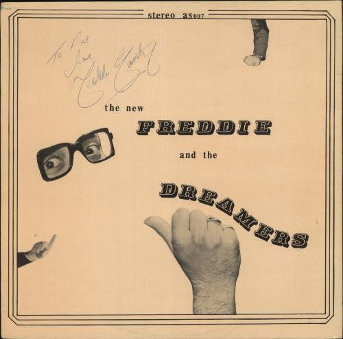 Freddie & The Dreamers The New Freddie And The Dreamers - Autographed vinyl LP album (LP record) UK F&DLPTH727641