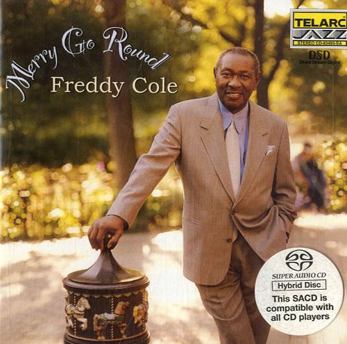 Freddie Cole Merry Go Round super audio CD SACD Dutch FVFSAME602543