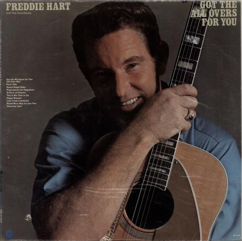 Freddie Hart Got The All Overs For You vinyl LP album (LP record) US 1FHLPGO699053