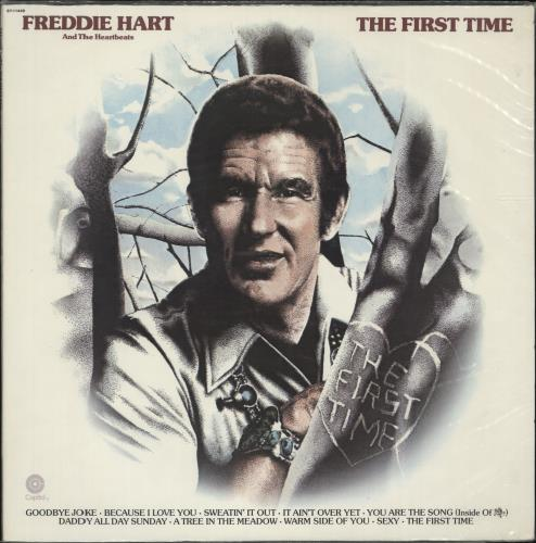 Freddie Hart The First Time vinyl LP album (LP record) US 1FHLPTH699157