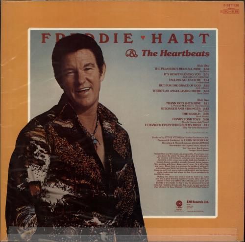 Freddie Hart The Pleasure's Been All Mine vinyl LP album (LP record) US 1FHLPTH699057