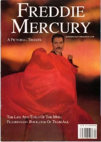 Freddie Mercury A Pictorial Tribute magazine UK MERMAAP184458
