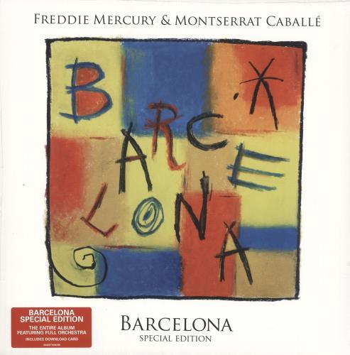 Freddie Mercury Barcelona - Special Edition - Sealed vinyl LP album (LP record) UK MERLPBA731392