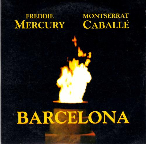 "Freddie Mercury Barcelona CD single (CD5 / 5"") French MERC5BA15498"