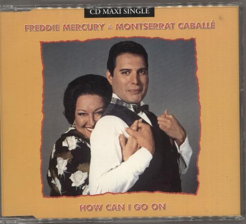 """Freddie Mercury How Can I Go On CD single (CD5 / 5"""") UK MERC5HO12400"""