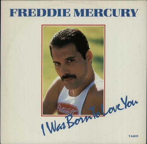 "Freddie Mercury I Was Born To Love You 12"" vinyl single (12 inch record / Maxi-single) UK MER12IW07047"