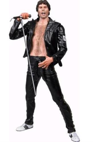 """Freddie Mercury Leather Look 7"""" Figure Toy UK MERTYLE389693"""