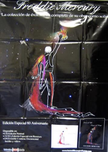 Freddie Mercury Lover Of Life Singer Of Songs display Mexican MERDILO376432