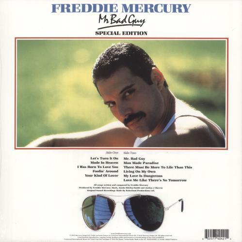 Freddie Mercury Mr Bad Guy - Special Edition - Sealed vinyl LP album (LP record) UK MERLPMR731391