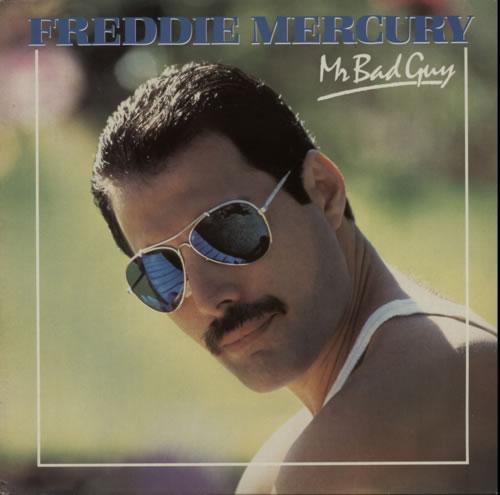 Freddie Mercury Mr Bad Guy vinyl LP album (LP record) UK MERLPMR620101