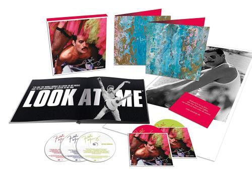 Freddie Mercury Never Boring - Deluxe Boxset 3-disc CD/DVD Set UK MER3DNE731396