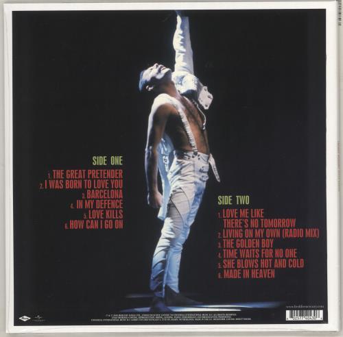 Freddie Mercury Never Boring - Sealed vinyl LP album (LP record) UK MERLPNE731394