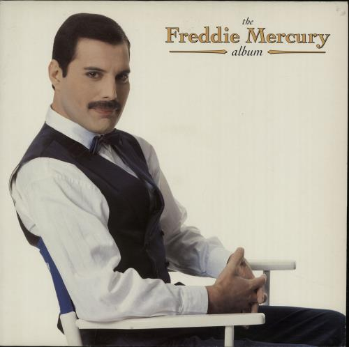 Freddie Mercury The Freddie Mercury Album - EX vinyl LP album (LP record) UK MERLPTH214453