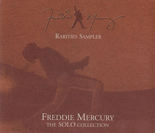 Freddie Mercury The Solo Collection Rarities Sampler Uk